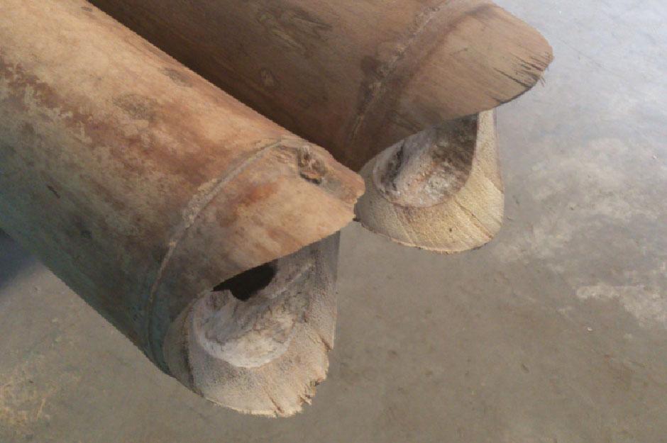 Tipos de uniones con bamb bambusa estudio - Tipos de bambu ...