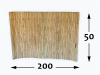 Arelle di Bambù Ø25 - 50cm - 200cm-it