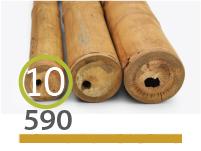 Cañas Bambú Guadua - 9-11-cm - 590-m