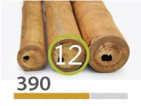 Cañas Bambú Guadua - 11-13-cm - 390-m