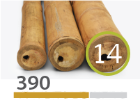 Cañas Bambú Guadua - 13-15-cm - 390-m