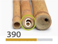 Guadua bamboo poles - 5-7-cm-en - 390-m-en