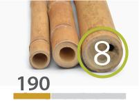 Guadua bamboo poles - 7-9-cm-en - 190-m-en