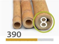 Guadua bamboo poles - 7-9-cm-en - 390-m-en
