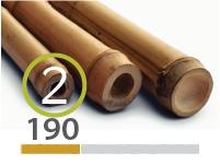 Cañas Bambú Tonkin - 2-3-cm - 190-m