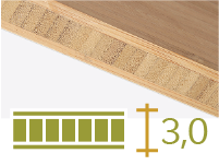 Bamboo board - 30-mm-en - toasted-en