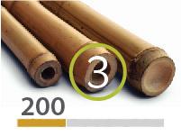 Tonkin bamboo poles - 3-4-cm-en - 200m-en