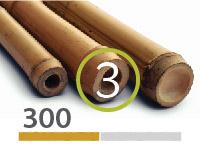 Tonkin bamboo poles - 3-4-cm-en - 300m-en