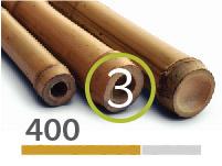 Tonkin bamboo poles - 3-4-cm-en - 400m-en