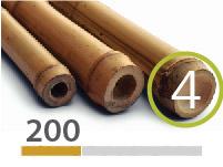 Tonkin bamboo poles - 4-5-cm-en - 200m-en