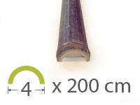 Media caña Bambú Black - 4-5-cm - 2m