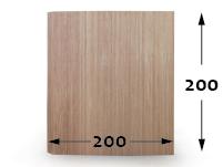 Bambú Flexible - 200cm - 200cm