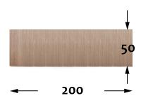Bambú Flexible - 50cm - 200cm