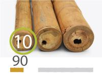 Guadua bamboo poles - 9-11-cm-en - 90cm