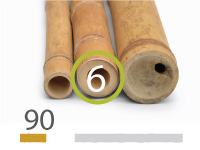 Guadua bamboo poles - 5-7-cm-en - 90cm