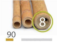 Guadua bamboo poles - 7-9-cm-en - 90cm