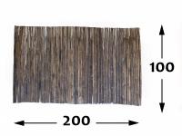 Rollos de Bambú Black Ø25 - 100-cm - 200cm